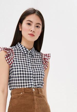 Блуза Liu Jo. Цвет: синий