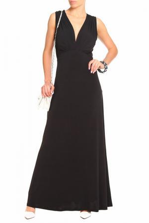 Платье макси-луч Alina Assi. Цвет: черный
