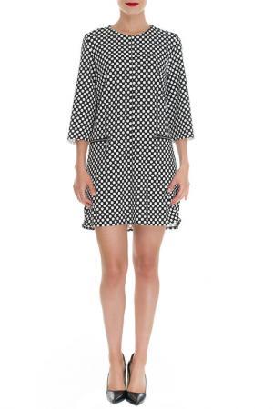 Платье Almatrichi. Цвет: black and white