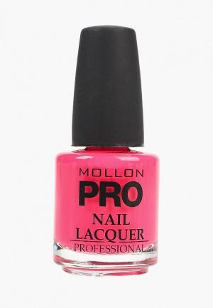 Лак для ногтей Mollon Pro. Цвет: розовый