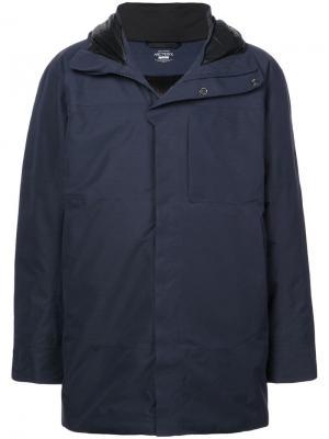 Куртка с капюшоном Arc'teryx. Цвет: синий