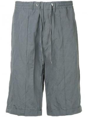 Jogging shorts Costume National. Цвет: серый