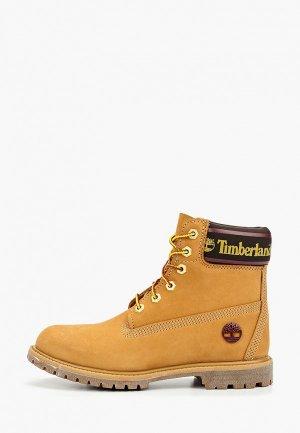 Тимберленды Timberland. Цвет: желтый