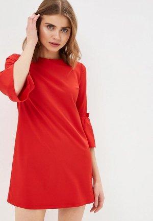 Платье Allegri. Цвет: красный