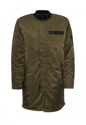 Куртка утепленная Sweewe. Цвет: хаки