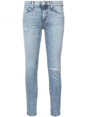 Nico скинни джинсы Hudson. Цвет: синий