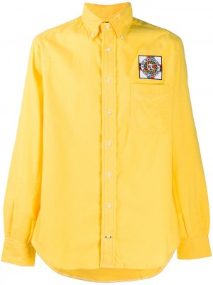 Рубашка Bend Oregon Gitman Vintage. Цвет: желтый