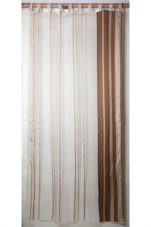 Тюль камила, 150х290 Daily by T. Цвет: коричневый