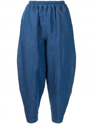 Зауженные брюки свободного кроя Toogood. Цвет: синий