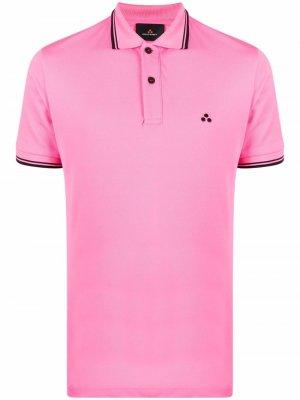 Рубашка поло с короткими рукавами Peuterey. Цвет: розовый