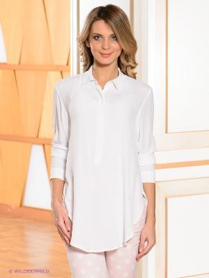 Блузка Bandolera. Цвет: белый