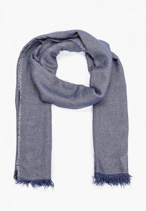 Палантин Trussardi Jeans. Цвет: синий