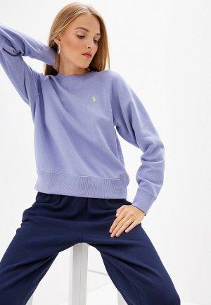 Свитшот Polo Ralph Lauren. Цвет: фиолетовый