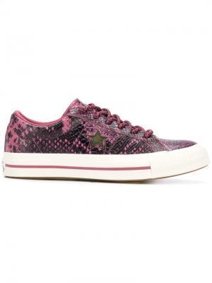 One Star Ox sneakers Converse. Цвет: розовый