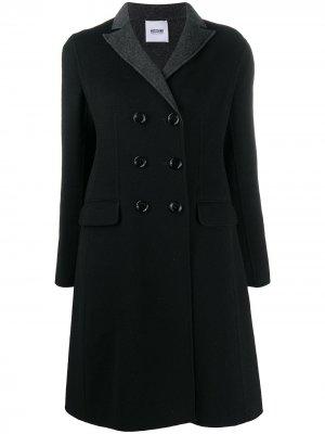 Пальто 2000-х годов Moschino Pre-Owned. Цвет: черный