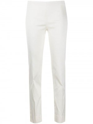 Укороченные брюки кроя слим P.A.R.O.S.H.. Цвет: белый