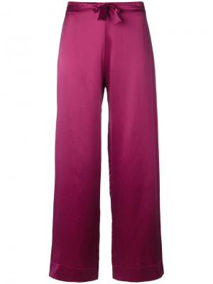 Пижамные брюки Bloomsbury Gilda & Pearl. Цвет: розовый