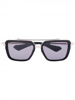 Солнцезащитные очки-авиаторы Mach Seven Dita Eyewear. Цвет: черный