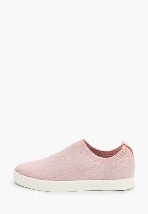 Слипоны Caprice. Цвет: розовый