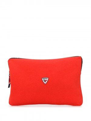 Сумка для ноутбука с нашивкой-логотипом Rossignol. Цвет: красный
