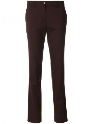 Укороченные брюки капри Etro. Цвет: красный