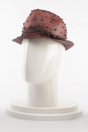Шляпа Brunello Cucinelli. Цвет: коричневый