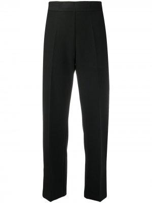 Укороченные брюки с завышенной талией Altea. Цвет: черный