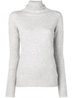 Базовый свитер Peuterey. Цвет: металлик