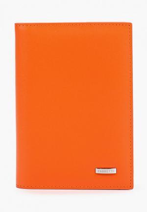 Обложка для документов Fabretti. Цвет: оранжевый
