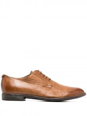 Туфли дерби MOMA. Цвет: коричневый