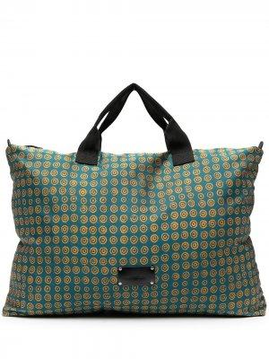 Дорожная сумка с логотипом 10 CORSO COMO. Цвет: синий