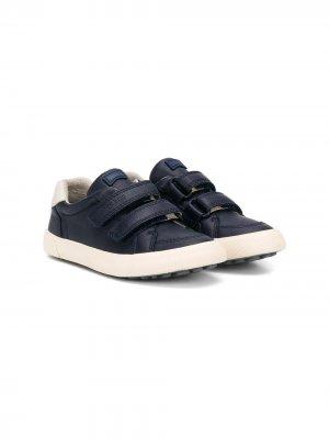 Кроссовки на липучках с закругленным носком Camper Kids. Цвет: синий