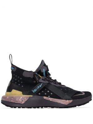 Кроссовки Drifter Split ISPA Nike. Цвет: черный