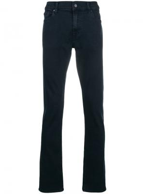 Luxe performance rinse jeans 7 For All Mankind. Цвет: синий