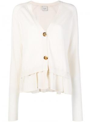 Soft lightweight cardigan Alysi. Цвет: нейтральные цвета