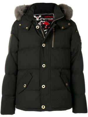 Short puffer jacket Moose Knuckles. Цвет: черный
