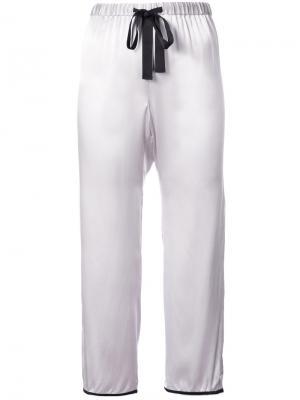Пижамные брюки Lissie Morgan Lane. Цвет: розовый и фиолетовый