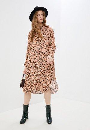 Платье Paul & Joe. Цвет: розовый