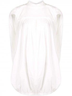 Блузка-кейп Ann Demeulemeester. Цвет: белый