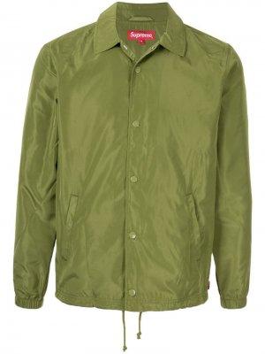 Куртка Digi Coaches коллекции SS17 Supreme. Цвет: зеленый