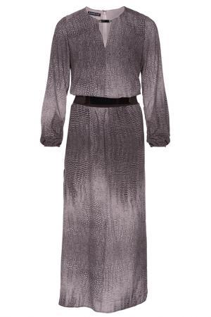 Платье Apart. Цвет: коричневый