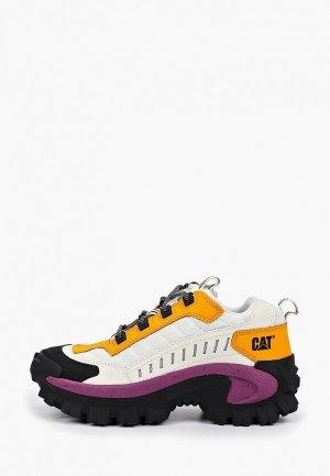 Ботинки трекинговые Caterpillar. Цвет: белый