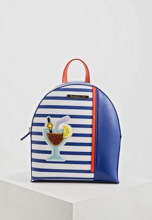 Рюкзак Braccialini. Цвет: синий