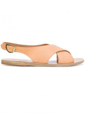 Сандалии Maria Ancient Greek Sandals. Цвет: нейтральные цвета