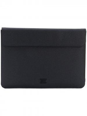 Фактурный чехол для Macbook 15 Herschel Supply Co.. Цвет: черный