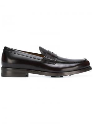 Classic loafers Doucal's. Цвет: коричневый