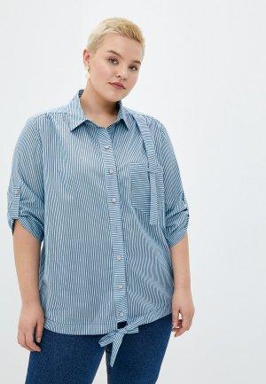 Рубашка Intikoma. Цвет: голубой