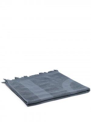 Пляжное полотенце с логотипом Eres. Цвет: синий