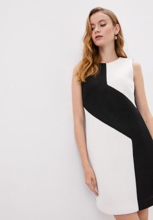 Платье DKNY. Цвет: разноцветный