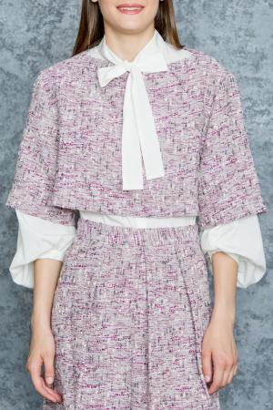 Блузка Tsurpal. Цвет: лиловый